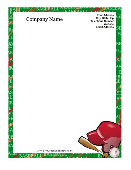 baseball card template microsoft word best photos of baseball templates for word baseball