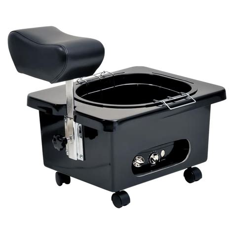 Pedicure Bowls With Plumbing by Pibbs Pedi N Go Portable Pedicure Bowl With Footrest