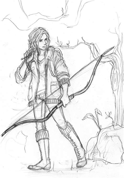 free coloring pages hunger games free coloring pages the hunger games katniss everdeen by