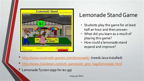 Pictures on Cool Math Game Lemonade Stand,   Easy Worksheet Ideas