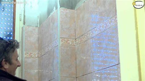 come mettere le piastrelle al muro come posare le piastrelle a parete parte 2