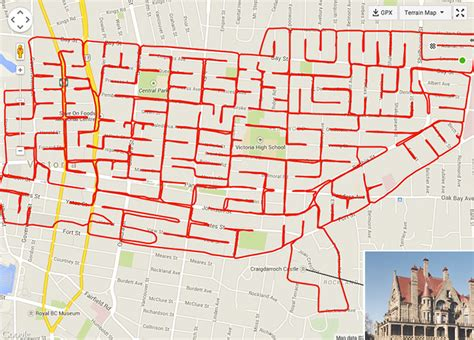 km doodlebug map artist uses bicycle and gps to draw pictures on city maps