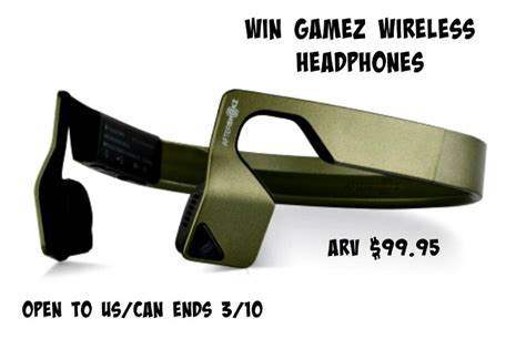 Headphone Giveaway - aftershokz gamez wireless headphones giveaway tom s take