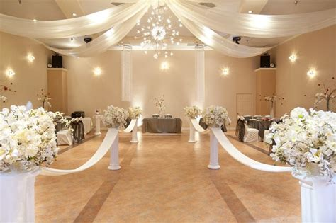 Wedding Halls by Wedding Decor A Anniversary Wedding