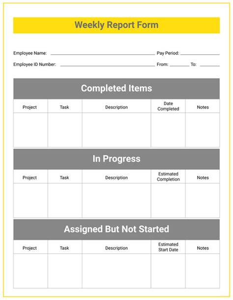 report card template docx weekly student report templates 5 free word pdf format