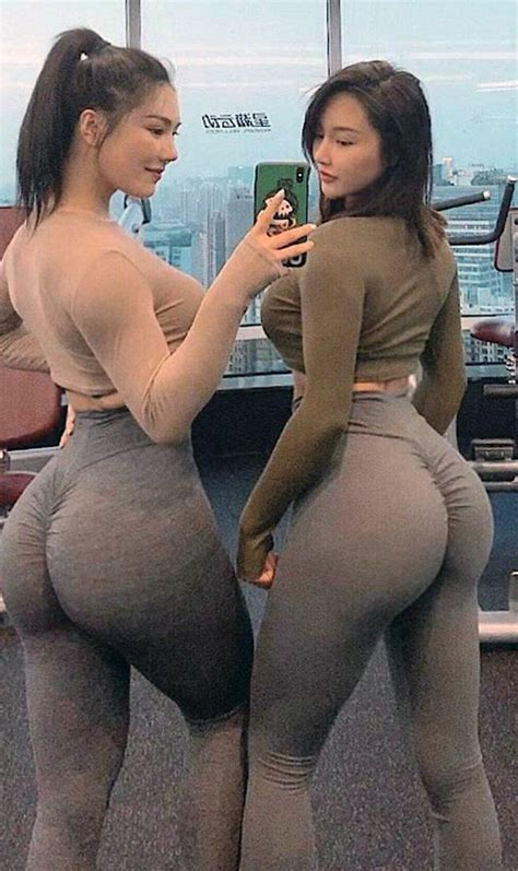 Who Are These Asian Chicks Huge Asses In Selfie Appears