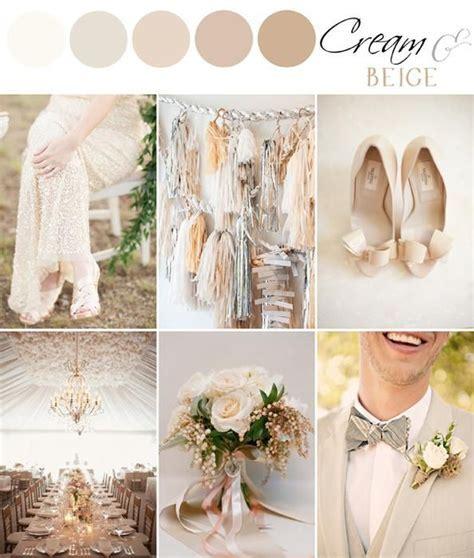 COLOR PALETTE: CREAM & BEIGE (The Bride's Cafe Blog
