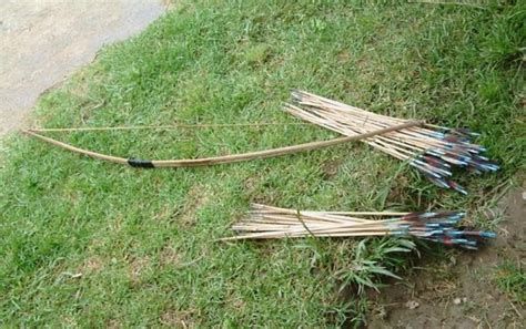 Handmade Bow And Arrow - home made bows and arrows photo