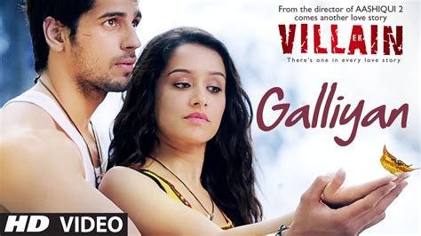 vidio film india bollywood terbaru ek villain galliyan video song ankit tiwari sidharth
