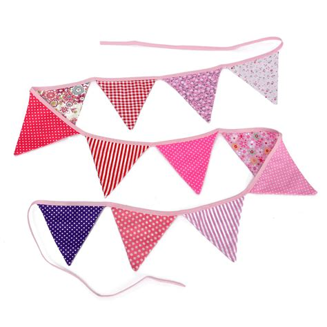 Handmade Flags - lovely handmade fabric flags buntings pennants wedding