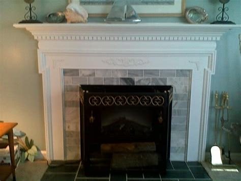 How To Cover A Fireplace With by Fireplace Mantle Cover Brick Traditional Living Room Dc Metro