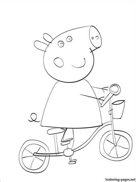 peppa pig halloween coloring pages free coloring pages of peppa pig halloween