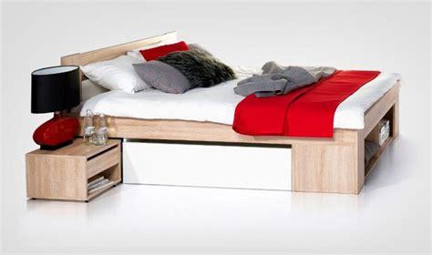 lit 2 places avec tiroirs de rangement quadro