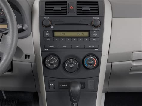 Toyota Corolla Instrument Panel Lights 2007 Toyota Corolla S Instrument Panel Interior Images