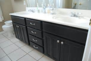 bathroom cabinets black design gal handyman bathroom projects a new