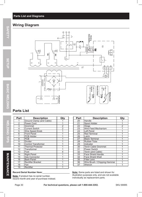 chicago electric winch wiring diagram repair wiring scheme