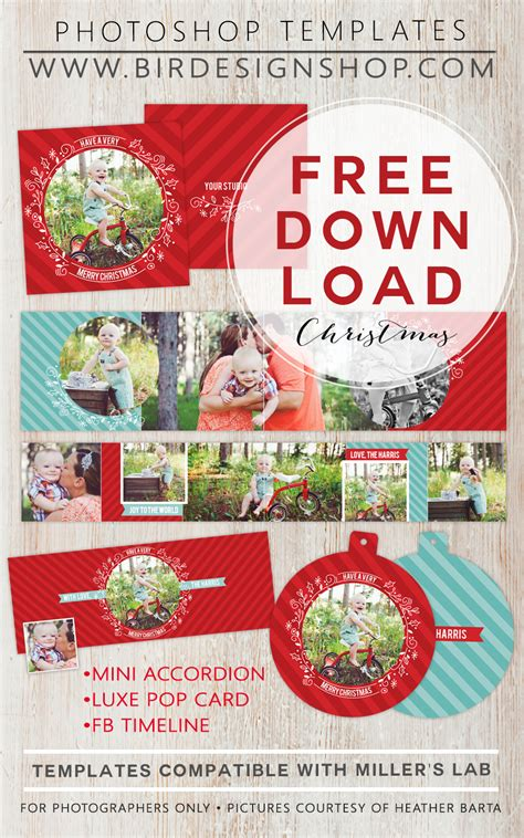 Free Photo Card Templates For Photoshop by 50 Free Photo Card Templates Moritz Designs