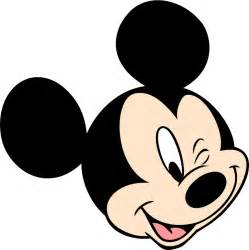 mickey mouse logo clipart
