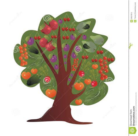 Arbre A Fruits by Arbre Avec Des Fruits Et L 233 Gumes Illustration De Vecteur
