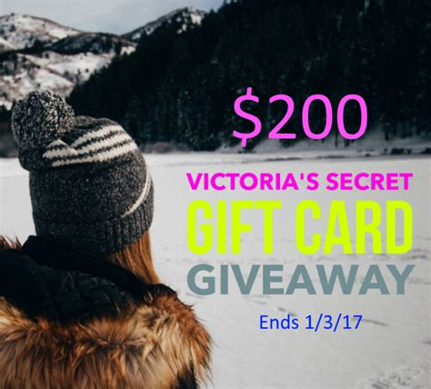 Victoria Secret Gift Card Giveaway - 200 victoria s secret gift card giveaway ww