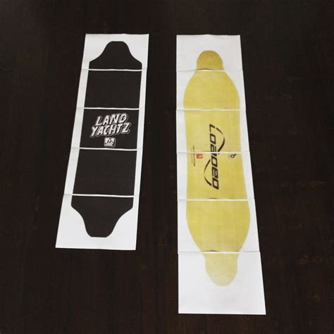 longboard templates printable pdf templates any deck esk8 aesthetics