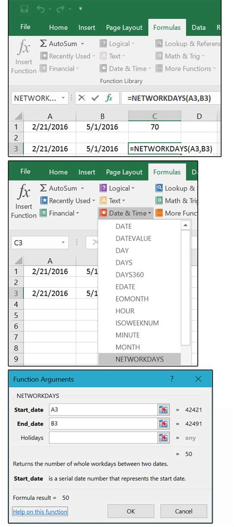 date format getdate php excel count days excluding weekends use excel to