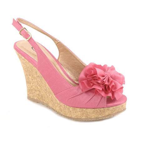 Murano Wedges Heels 7 Cm 2 pink wedges heels www imgkid the image kid has it