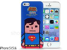 Casing Iphone 5 5s Superman L0141 iphone 5 5s justice league x korejanai dc comics heroes