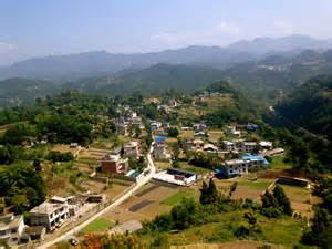 mountain town enshi part 3 small paradise in the middle of china great view from the tower