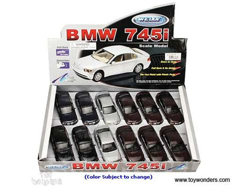 Diecast Bmw 745i By Welly Original bmw 745i top by welly 1 34 1 39 scale diecast model