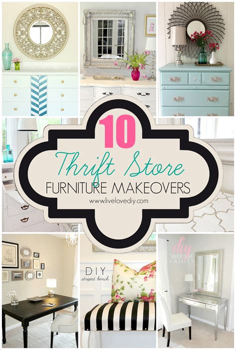 livelovediy a diy blogger s guide to paint products that work livelovediy 10 thrift store furniture makeovers