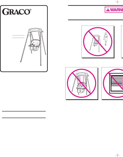 graco swing assembly instructions graco swing sets 1131 1132 1141 user guide