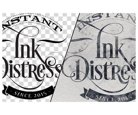 logo design effects in photoshop grunge effect photoshop grunge ink distresser visual