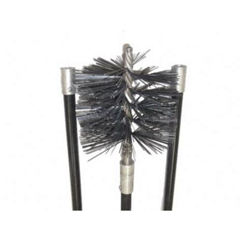 Chimney Flue Brush Set - chimney brush kit deluxe 150mm