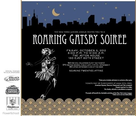 great gatsby themed invitation template 78 best images about gatsby on great