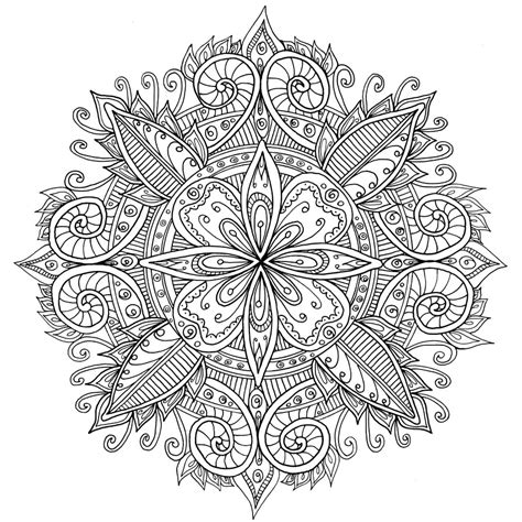 coloring pages adults mandala free mandala coloring pages for adults coloring home