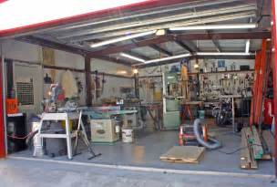 garage workshop designs woodshop