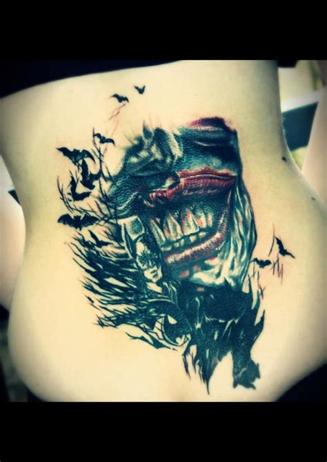 joker batman tattoo designs top heath ledger joker tattoo designs images for pinterest