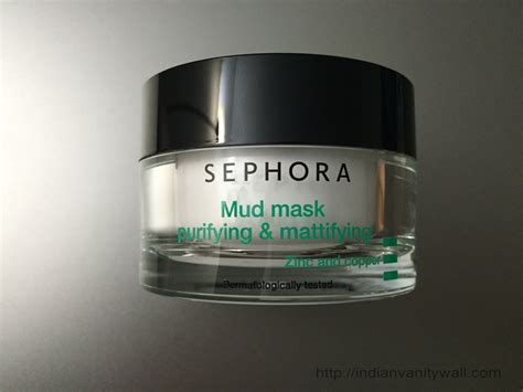 Sephora Mud Mask sephora mud mask purifying mattifying review