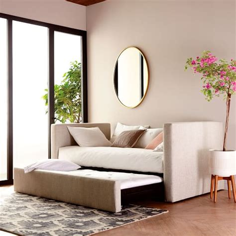 daybed bolsters modern daybeds by west elm urban daybed trundle west elm