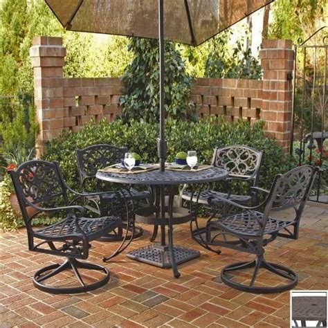 cast aluminum lowes cast aluminum patio furniture