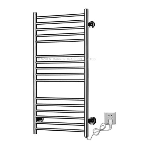110v 220v heated towel rail holder bathroom accessories