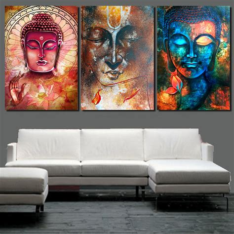 buddha paintings for living room buy wholesale buddha wall from china buddha wall wholesalers aliexpress
