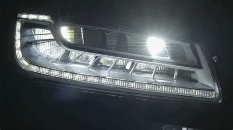 audi matrix headlights 2015 audi matrix led headlights youtube