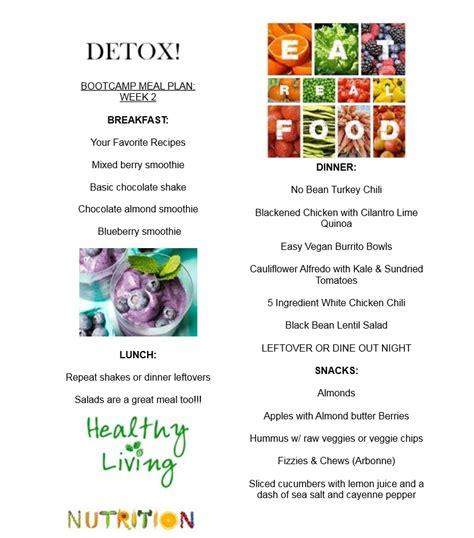 detox plan home house design plans