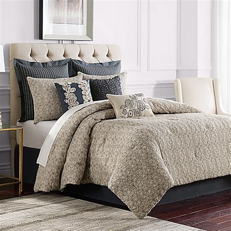 sonoma bedding sonoma comforter set in grey bed bath beyond
