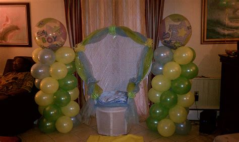 Baby Shower In Honor Of Or Baby by Baby Shower Guest Of Honor Chair Flickr Photo