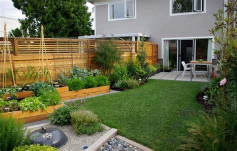 contemporary raised garden beds tucked round edges raised