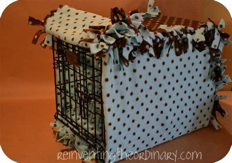 dog crate cover pattern easy cozy almost no sew dog crate cover diy crafts