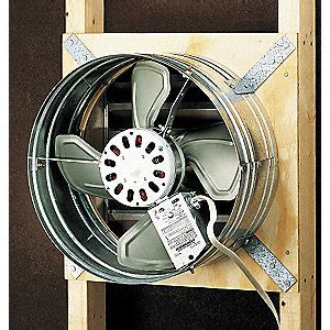 grainger roof exhaust fans broan ventilator gable mount 120 v 1140 cfm 4c671 353